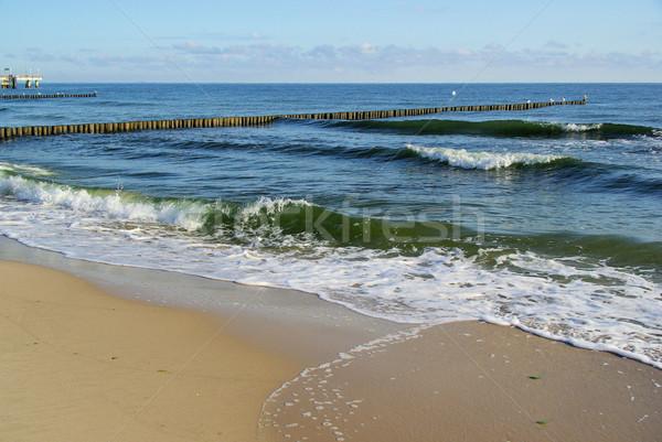 Mar báltico praia 12 natureza azul viajar Foto stock © LianeM