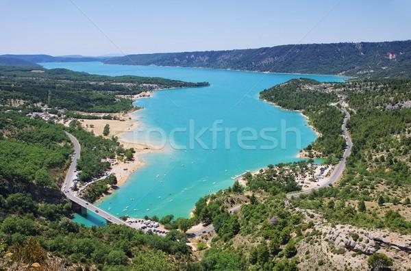 Stock photo: Lac de Sainte-Croix 04