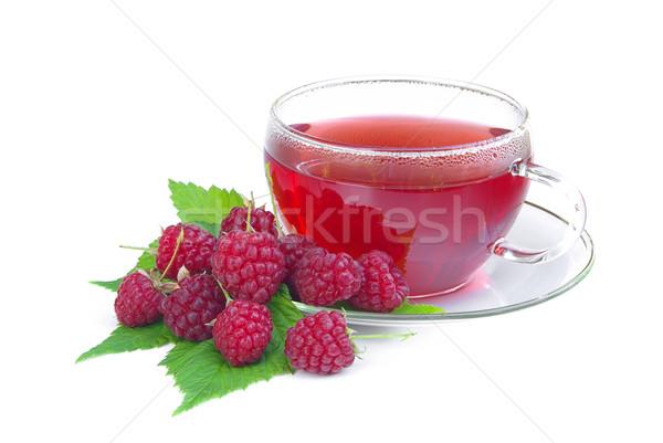 raspberry tea 02 Stock photo © LianeM