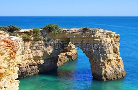 Algarve beach Albandeira  Stock photo © LianeM