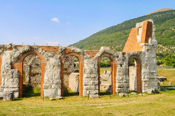 Gubbio amphitheatre 03 Stock photo © LianeM
