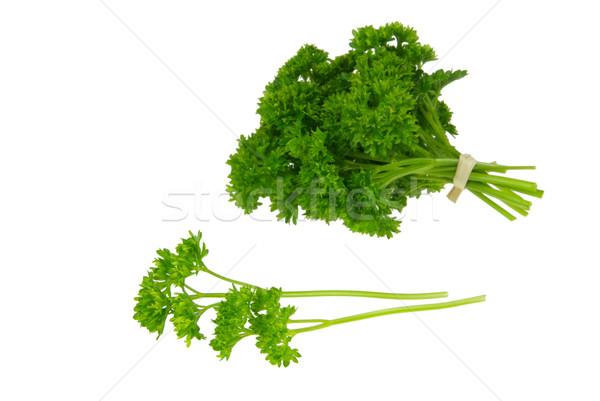 Pietruszka 22 zielone roślin jedzenie świeże Zdjęcia stock © LianeM