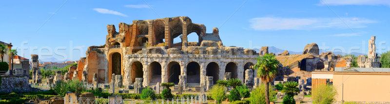 Capua amphitheatre 10 Stock photo © LianeM