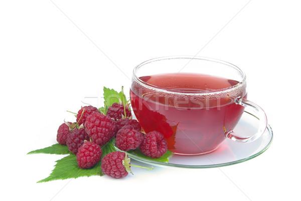 raspberry tea 01 Stock photo © LianeM