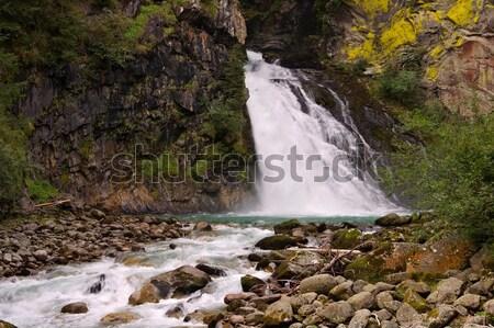 waterfall Reinfall  Stock photo © LianeM