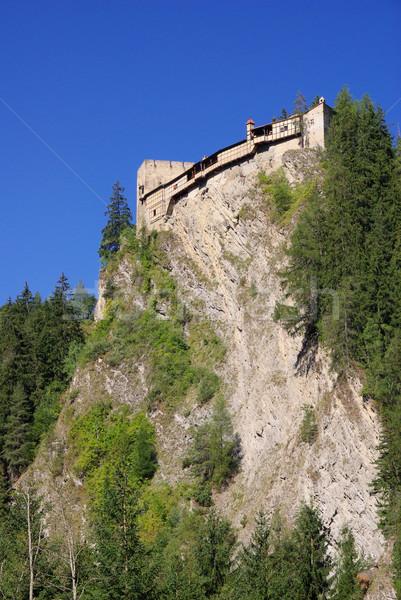 Kauns castle Berneck 03 Stock photo © LianeM