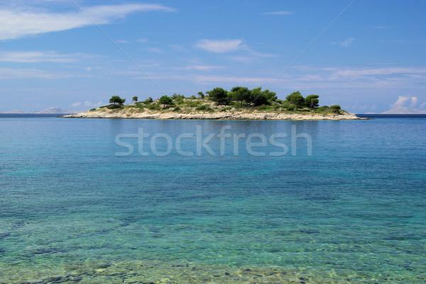 Murter island before the island 18 Stock photo © LianeM