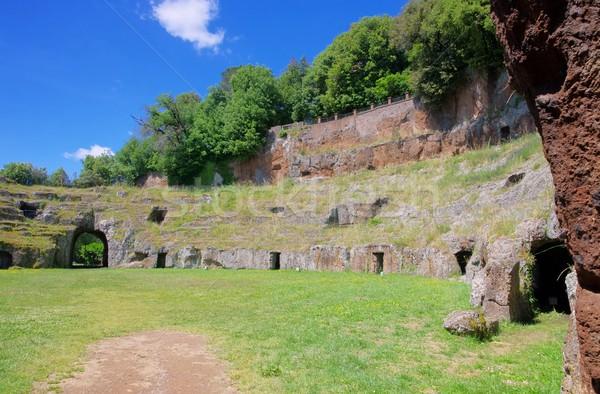 Sutri amphitheatre  Stock photo © LianeM