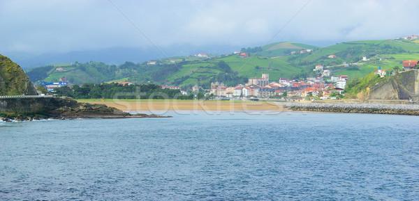 Costa Vasca near Zumaia  Stock photo © LianeM