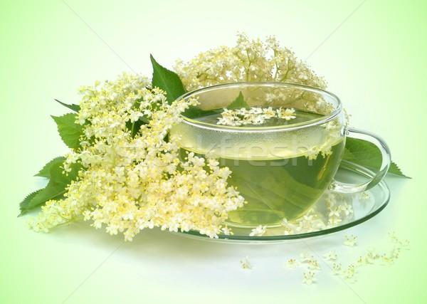 tea elder flower  Stock photo © LianeM