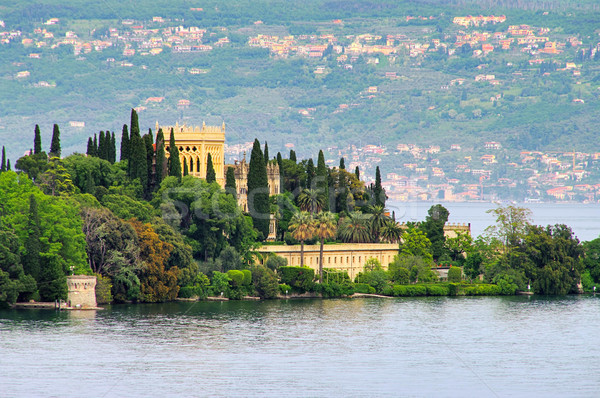 Gardasee Insel - Lake Garda island 01 Stock photo © LianeM