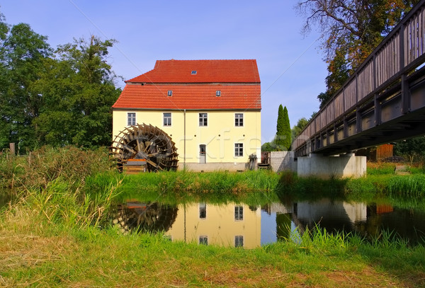 the old  watermill in Plessa, Lusatia Stock photo © LianeM