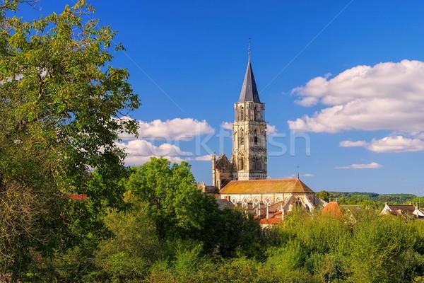 Notre-Dame de Saint-Pere-sous-Vezelay, Burgundy Stock photo © LianeM
