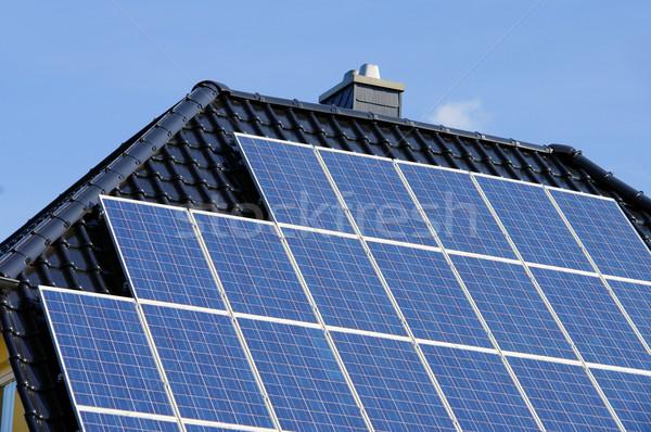 solar plant 96 Stock photo © LianeM