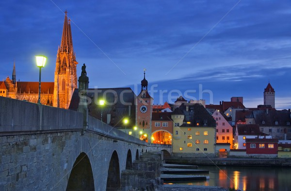 Regensburg  Stock photo © LianeM