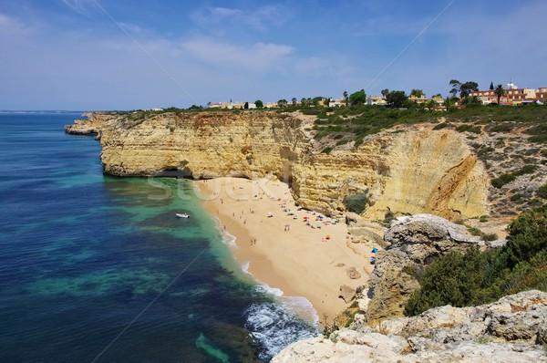 Algarve beach Vale de Centeanes  Stock photo © LianeM