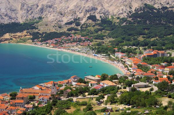 13 tájkép tenger nyár kék utazás Stock fotó © LianeM