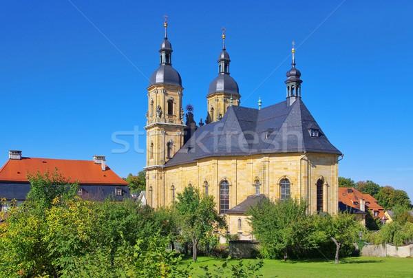 Сток-фото: Церкви · небе · стены · путешествия · архитектура · религии