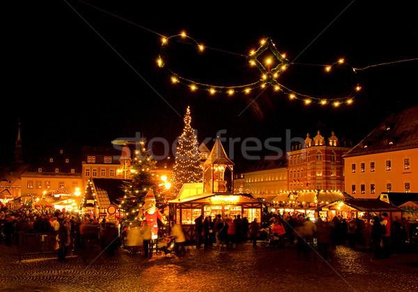 Annaberg-Buchholz Weihnachtsmarkt - Annaberg-Buchholz christmas market 07 Stock photo © LianeM