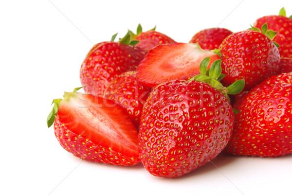 Erdbeere - strawberry 06 Stock photo © LianeM