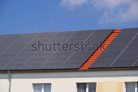 solar plant 75 Stock photo © LianeM