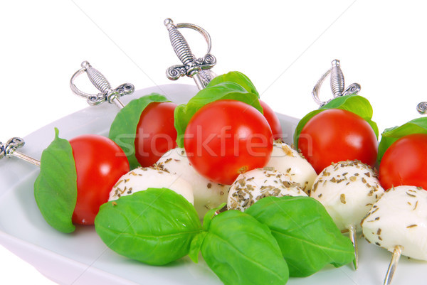 唾 葉 チーズ ボール 赤 ストックフォト © LianeM
