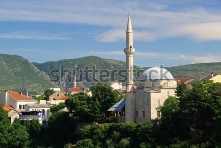 Mostar mosque 02 Stock photo © LianeM