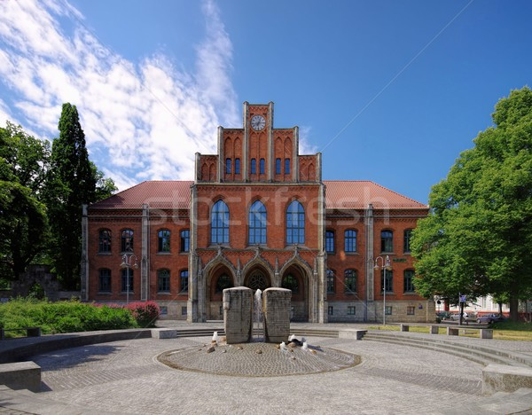 Halberstadt Martineum  Stock photo © LianeM