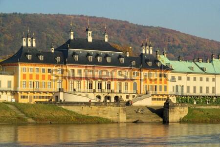 18 воды здании реке осень архитектура Сток-фото © LianeM