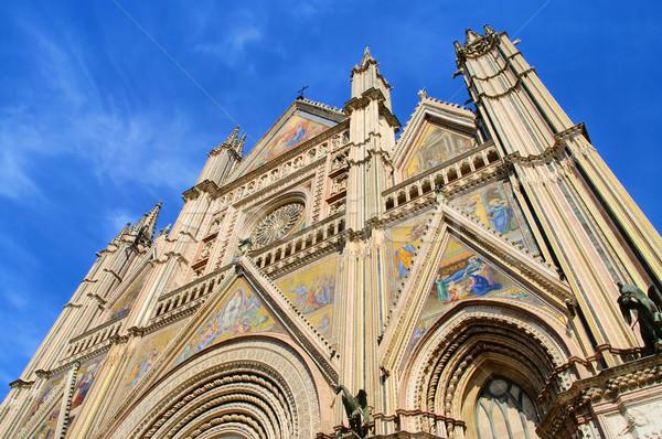 Orvieto cathedral 01 Stock photo © LianeM