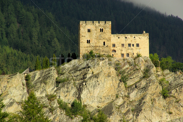 Stock photo: Ladis castle Laudegg 05