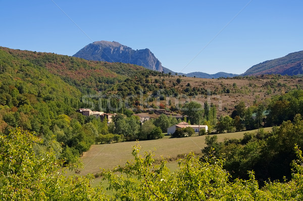 Stock photo: Pic de Bugarach in southern France