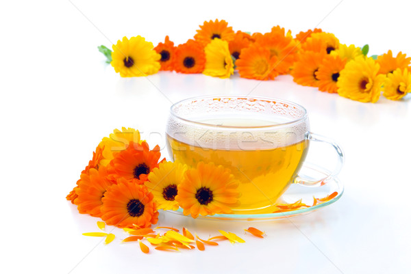 tea marigold 03 Stock photo © LianeM