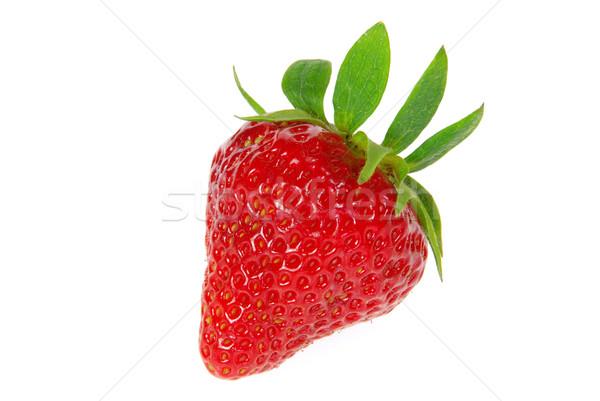 strawberry isolated 05 Stock photo © LianeM