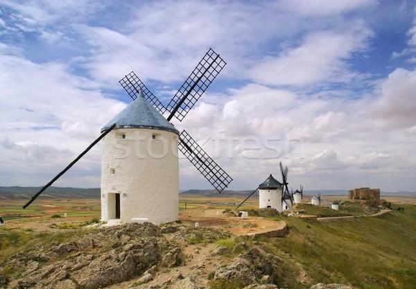 Consuegra Windmill  Stock photo © LianeM
