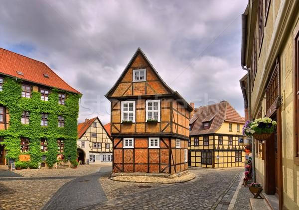 Qedlinburg old town  Stock photo © LianeM