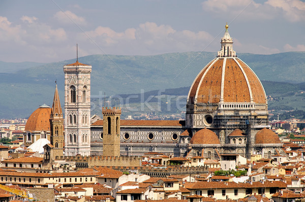 Florenz Dom - Florence cathedral 03 Stock photo © LianeM