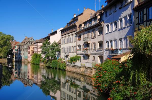 Strasbourg Petite France in  Alsace Stock photo © LianeM