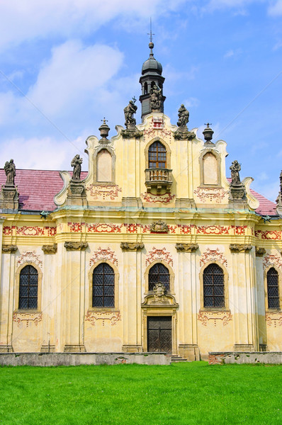 Mnichovo Hradiste convent 05 Stock photo © LianeM