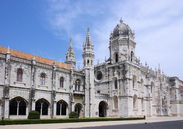 Lisbon Jeronimos Monastery 10 Stock photo © LianeM
