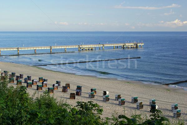 Koserow pier 07 Stock photo © LianeM