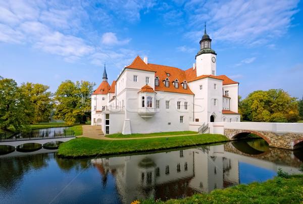 Fuerstlich Drehna palace in Brandenburg Stock photo © LianeM