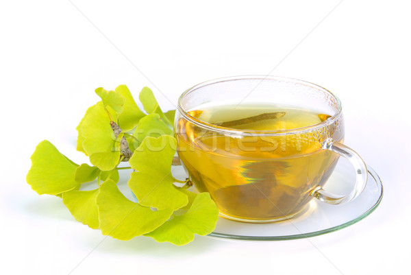 tea ginkgo 07 Stock photo © LianeM