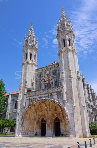 Lisbon Jeronimos Monastery 02 Stock photo © LianeM