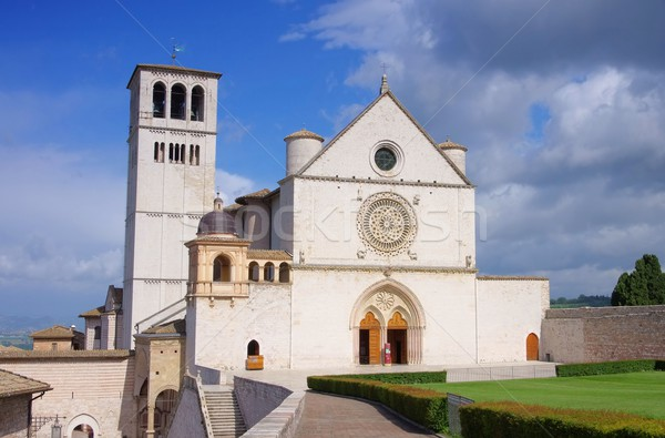 Assisi church 01 Stock photo © LianeM