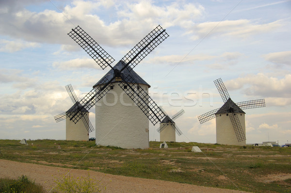 Campo de Criptana windmill  Stock photo © LianeM