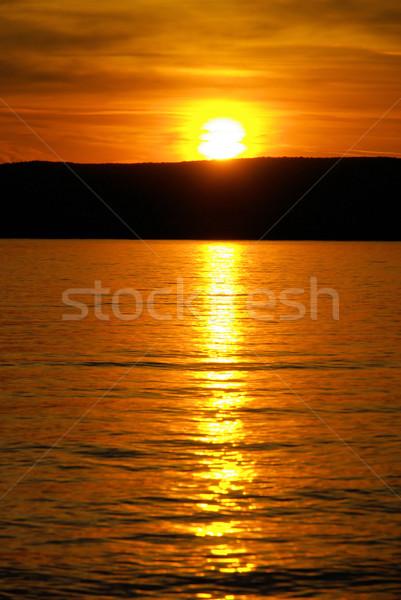 Krk sunset  Stock photo © LianeM