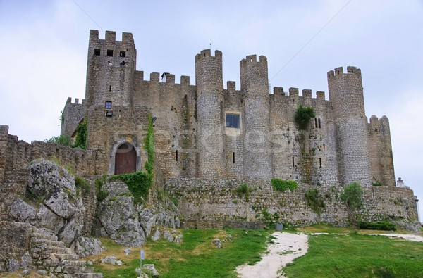 Obidos castle 03 Stock photo © LianeM