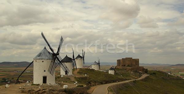 Consuegra Windmill 04 Stock photo © LianeM