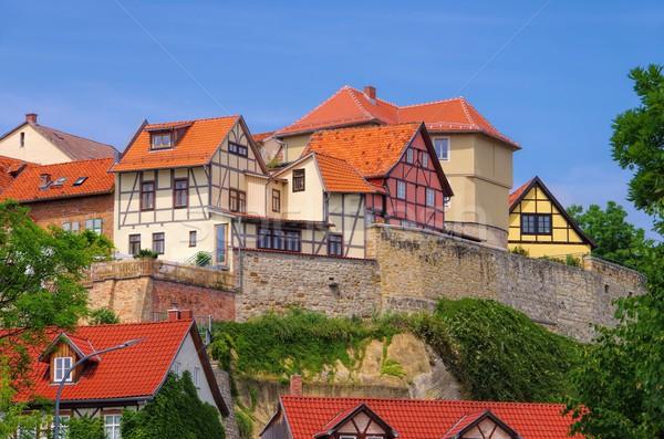 Quedlinburg Muenzenberg  Stock photo © LianeM